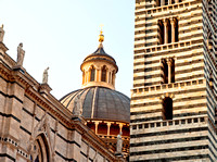 Siena Duomo tower and dome
