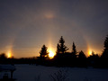 "Sundogs in ""the Land of the Living Sky"""