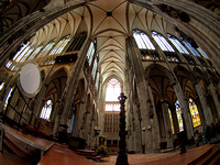 180 degree view from centre of church...