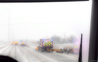 Snowstorm on the QEW